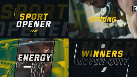 Videohive Sport Opener 23251117