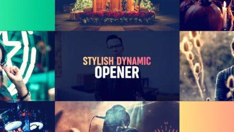 Videohive Stylish Dynamic Opener 23586497