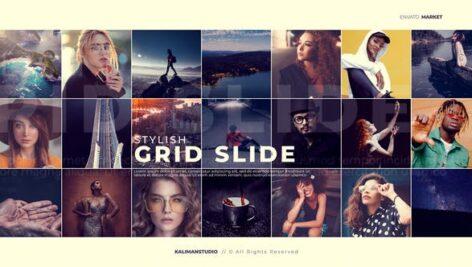 Videohive Stylish Grid Slide 25099632