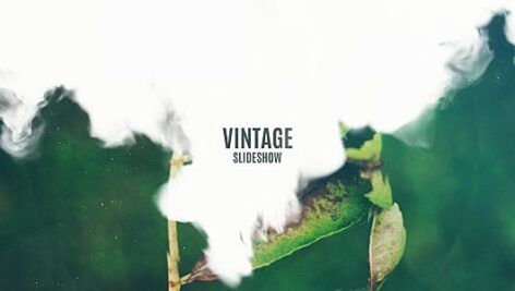 Videohive Vintage Slideshow – Smoke Effect 17419821