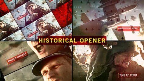 Videohive Historical Opener 16140981