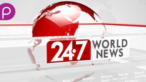 Videohive 24-7 World News 10022373