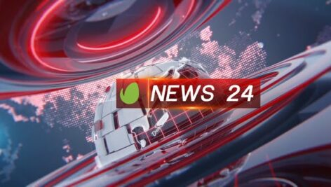 Videohive Broadcast 24News Package 24876665
