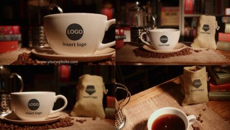 Videohive Coffee And Books Opener 28443069