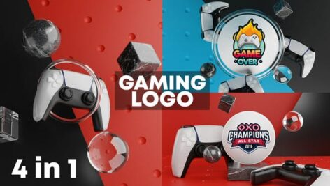 Videohive Gaming Logo Reveal 3D 27606557