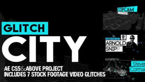 Videohive Glitch City 9710660