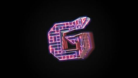Videohive Glitch Holo Logo 28759486