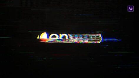 Videohive Glitch Logo 22807299