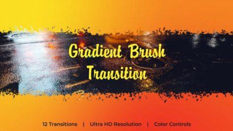 Videohive Gradient Brush Transition 23806414