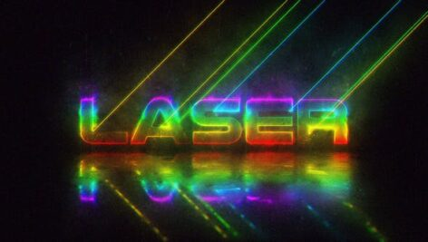 Videohive Laser Logo 27682285