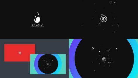 Videohive Quick Flat Logo Opener 23376914