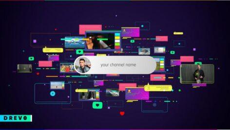 Videohive Social Media Intro 28781499