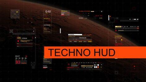 Videohive Techno HUD 24500371