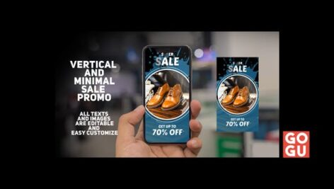 Videohive Vertical And Minimal Sale Promo 24785328
