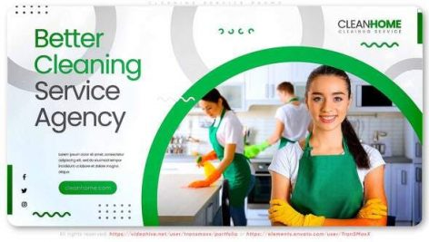 Videohive Better Cleaning Service Agency 28690240