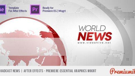 Videohive Broadcast News 4561761