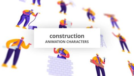 Videohive Construction – Character Set 28672345