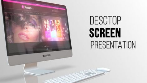 Videohive Desktop Screen Presentation 21647352