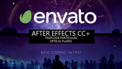 Videohive Epic Cosmic Intro 27225254