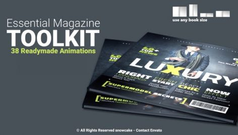 Videohive Essential Magazine Toolkit 25789830