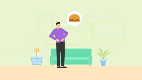 Videohive Food Delivery Animation 27472602