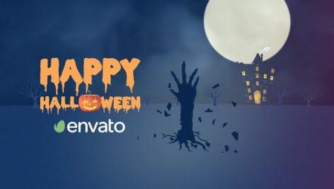 Videohive Halloween Creepy Intro 28995674