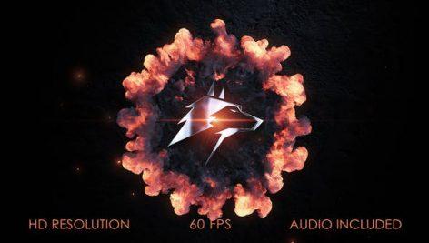 Videohive Logo Stomp Explosion 28128091