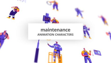 Videohive Maintenance – Character Set 28672388