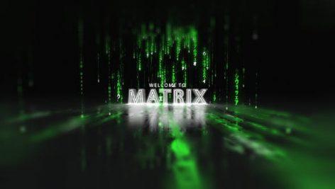Videohive Matrix Opener 28004193