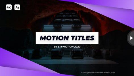 Videohive Modern Motion Titles 28502699
