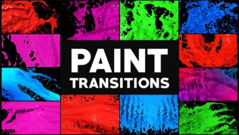 Videohive Paint Transitions 28002461