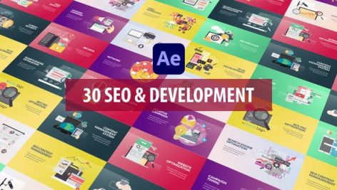 Videohive SEO and Development Animation 28809949