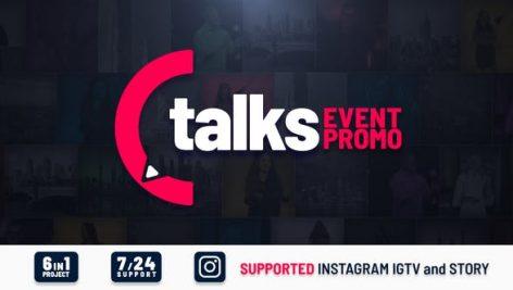 Videohive Talks Event Promo 27929448