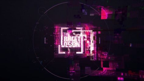 Videohive The Logo Glitch Animation Project 24766342