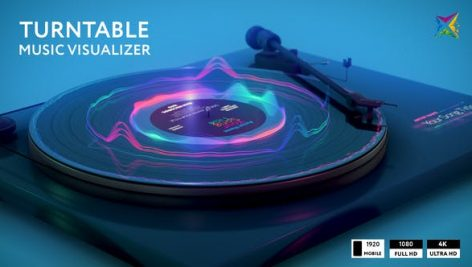 Videohive Turntable Music Visualizer 28772033