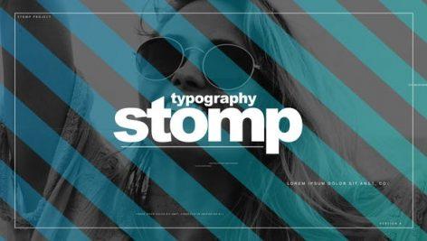 Videohive Typo Stomp 23499045