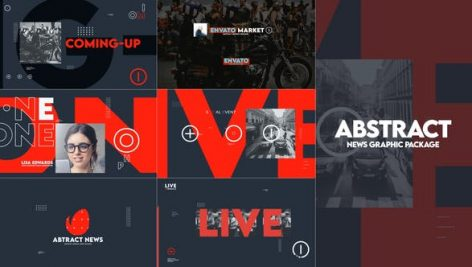 Videohive Abstract News Graphic Pack 28413098