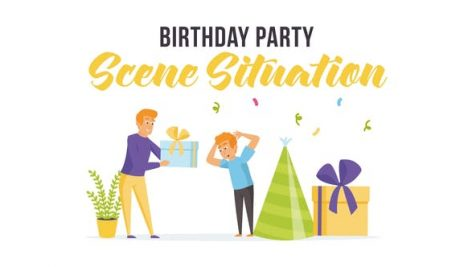 Videohive Birthday party – Scene Situation 28255801