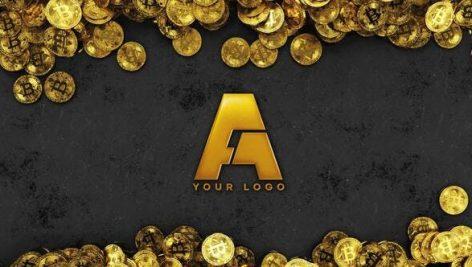 Videohive Bitcoin logo reveal 26933307