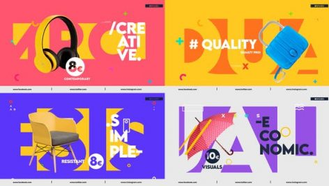 Videohive Colorful Product Promo 28256439