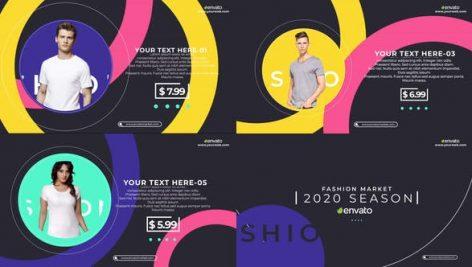 Videohive Fashion Market Promo 25335212