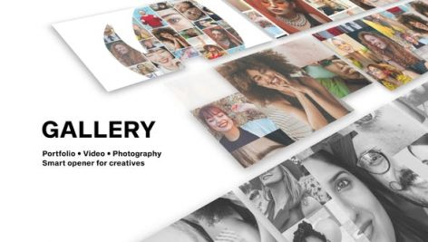 Videohive Gallery – Photo And Video Logo Reveal 28314287