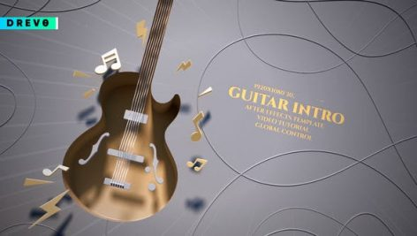 Videohive Guitar Intro 27420473