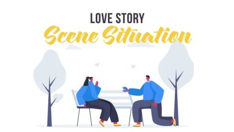 Videohive Love story – Scene Situation 28435500