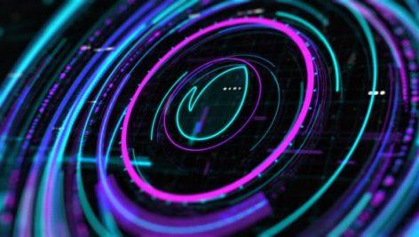 Videohive Sci-Fi HUD Intro 24190777