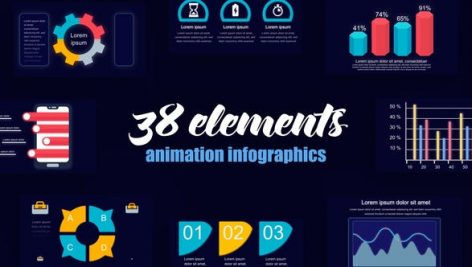 Videohive Startup Infographics Vol.43 28113286