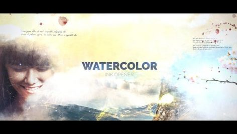 Videohive Watercolor Ink 21117056