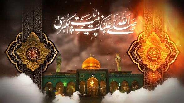 پروژه آماده افترافکت وفات حضرت زینب (س)