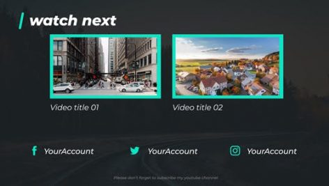 Videohive Youtuber Opener Lower Thirds Package 21175976